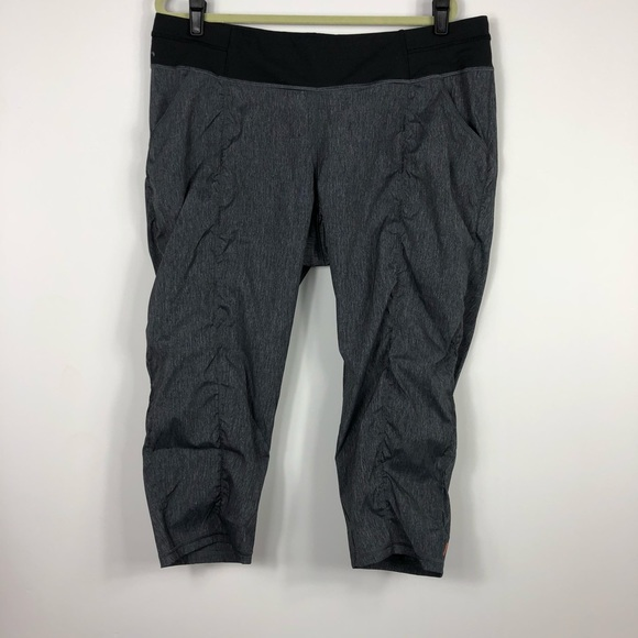 Gray Lucy Lightweight Crop Pants Xl Buy One Give One Activewear Bottoms Clothing, Shoes & Accessories